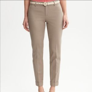 Banana Republic martin fit cuff pants